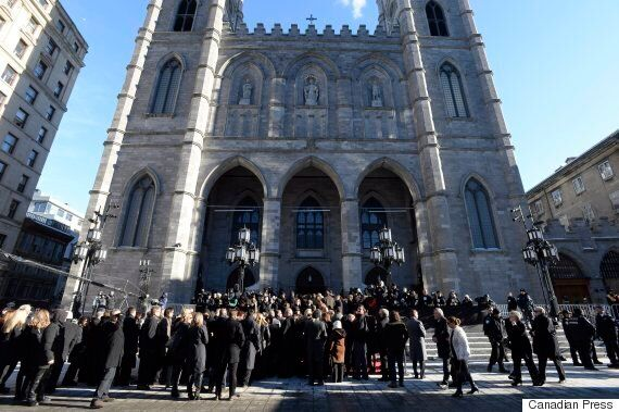 Hundreds Attend Rene Angelil's Funeral In