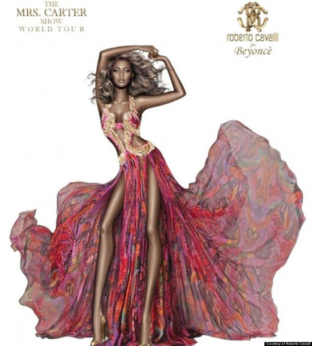 Beyoncé Gets Photoshopped In Roberto Cavalli Press Release (VIDEO,
