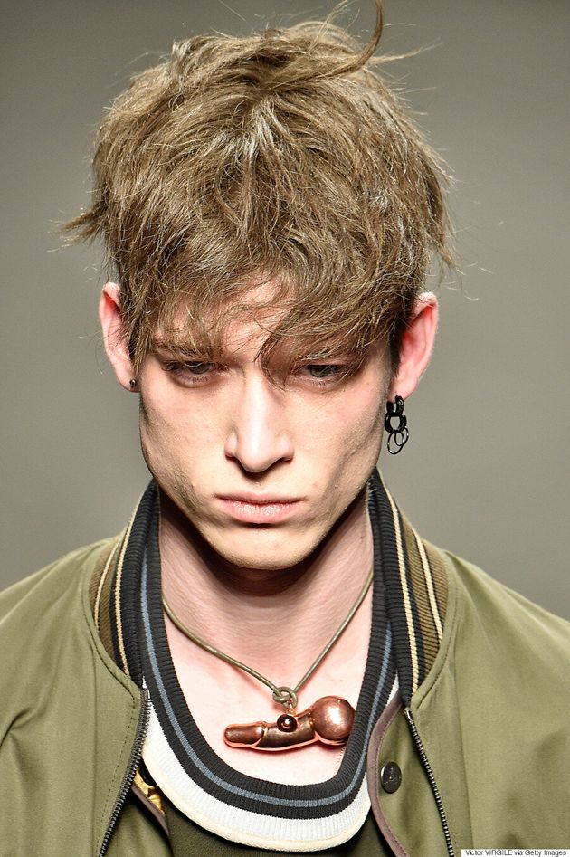 Penis Necklaces Take Centre Stage At Vivienne Westwood's Fall 2016 Menswear
