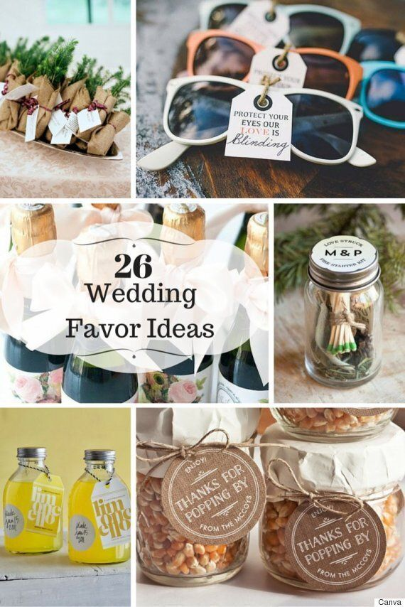 26 Wedding Favour Ideas Your Guests Will