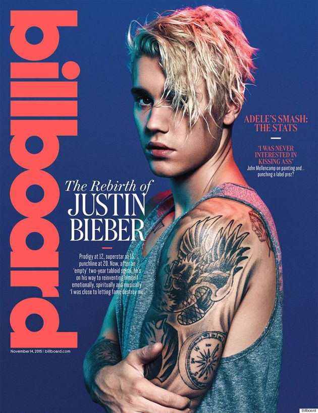 Justin Bieber And His Glorious Locks Cover Billboard
