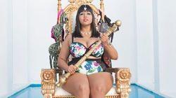 'Queen Of The Bikini' Unveils New Plus-Size Swimwear