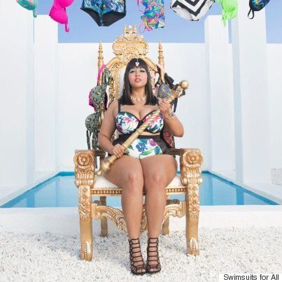 Gabi Fresh Unleashes Plus-Size 'Queen Of The Bikini' Line Through Swimsuits For