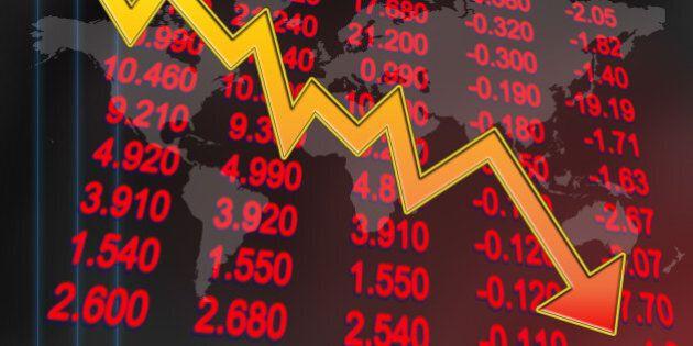 stocks price in downtrend