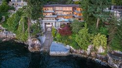 West Van Home Has A Garage To Park The