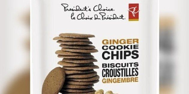 President's Choice Ginger Cookie Chips Recalled, May Contain