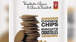 President's Choice Ginger Cookie Chips