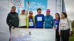 Ottawa Run For Women Brings Smiles For High School