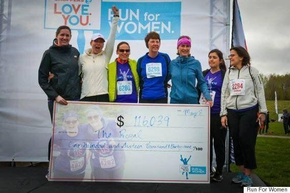 Ottawa Run For Women Brings Smiles For High School