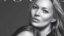 Kate Moss And Mini-Me Daughter Lila Grace Cover Vogue