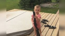 Of Course This Alberta Photo Sparks Debate On Gun