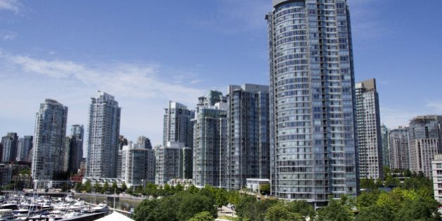 Vancouver skyline from False Creek