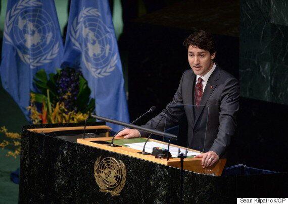 Trudeau: Liberals May Rejoin UN Drought Treaty Tories