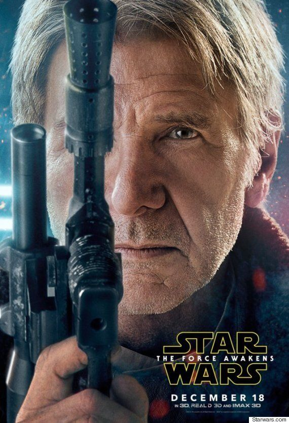 'Star Wars: The Force Awakens' Character Posters Are The Ones We Were Looking