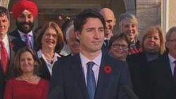 Trudeau Drops Mic With 3-Word Answer To Gender Parity