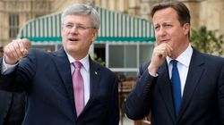 Harper Pushes 'Monumental' Deal In Speech To British