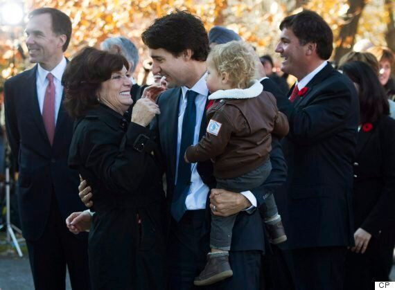Margaret Trudeau Joins Son Justin On Swearing-In Day At Rideau