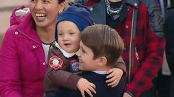 Justin Trudeau's Kids Steal The Show At His Swearing