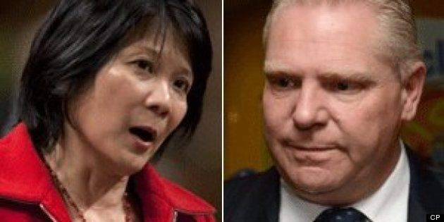 Doug Ford Takes Swipe At Olivia Chow Over Phone Town Hall