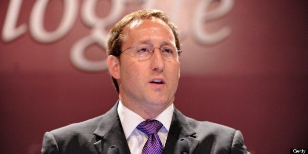 Canadian Defense Minister Peter MacKay speaks during the plenary session at the International Institute...