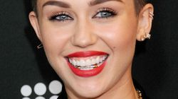 Miley Cyrus' Gold Grill