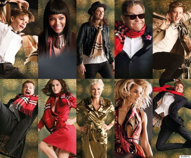 Elton John, Romeo Beckham And More Front Burberry's Star-Studded Holiday
