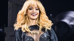 LOOK: Topless Rihanna Censored By Modest