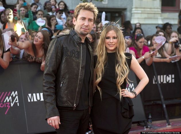 MMVAs 2013: Avril Lavigne, Chad Kroeger Make Red Carpet Debut Together