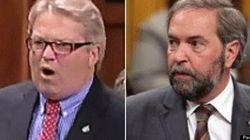 WATCH: Liberals Laugh At Mulcair's