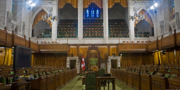 House of Commons, Canadian Parliament, Parliament Hill, Ottawa,