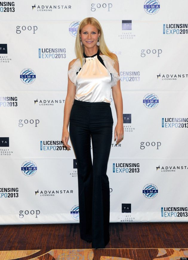 Gwyneth Paltrow's Fashion Misstep: 'Iron Man 3' Star Steps Out In Too-Tight Pants (VIDEO,