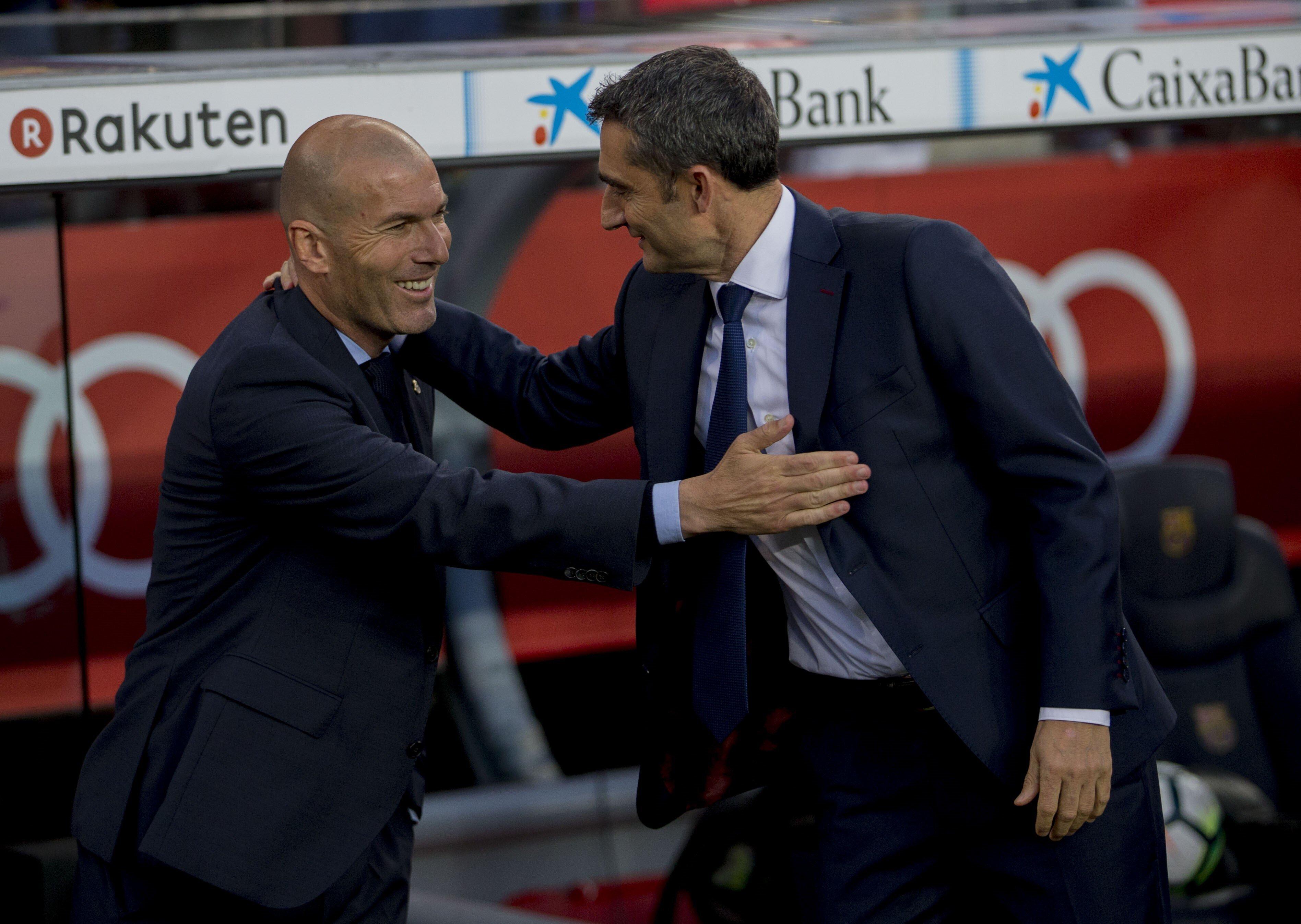 Espagne: Zidane prend la défense de Valverde, fragilisé au