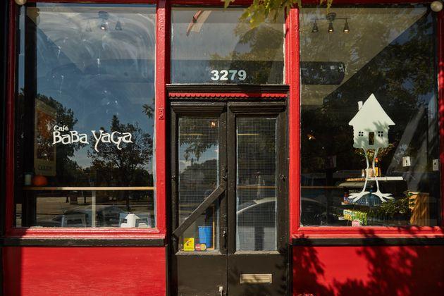 Café Baba Yaga: réconfort d'Europe de