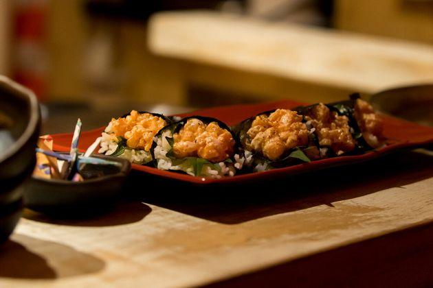 Cocktails japonais exquis au bar