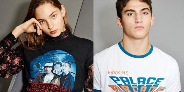 Une collection Stranger Things vraiment cool chez