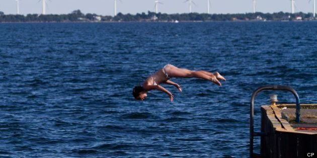 Attempt To Swim Lake Ontario End-To-End Comes Up