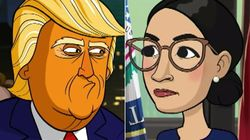 Stephen Colbert Teases New Season Of Trump-Baiting 'Our Cartoon