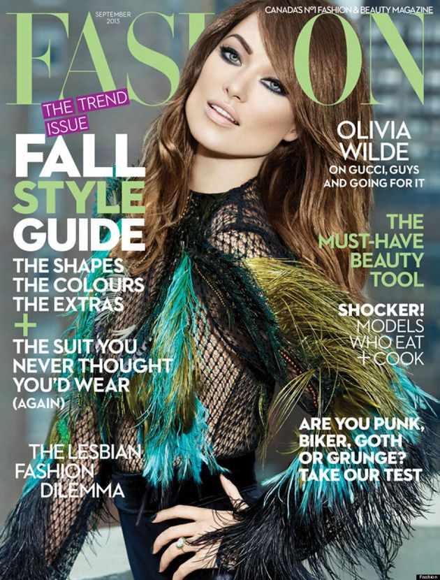 Olivia Wilde Looks Unrecognizable On Fashion Magazine Cover