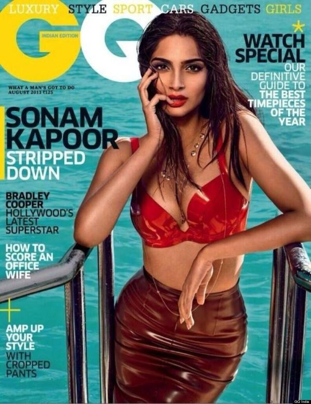 Sonam Kapoor Sizzles In Sexy Photoshoot In GQ India