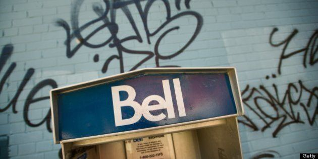 TORONTO, ON - JULY 16 : Bell Pay Phones may soon become a thing of the past now that the CRTC has denied...