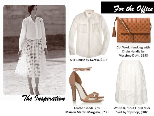 White on White Styles to Try Before Labour