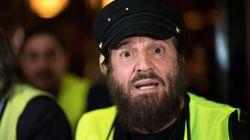 Tête d'une liste gilets jaunes aux européennes, Francis Lalanne expulsé de la manif' à