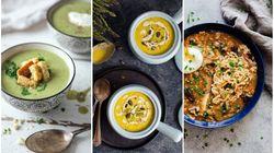 12 recettes de soupes réconfortantes pour oublier le