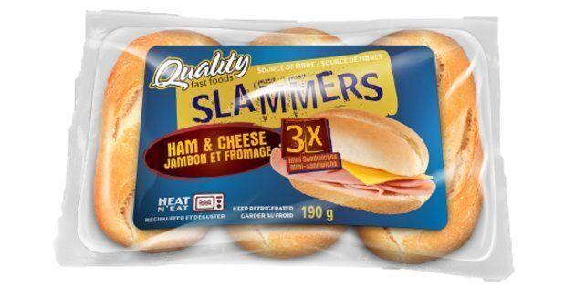 Rappel de plusieurs sandwichs
