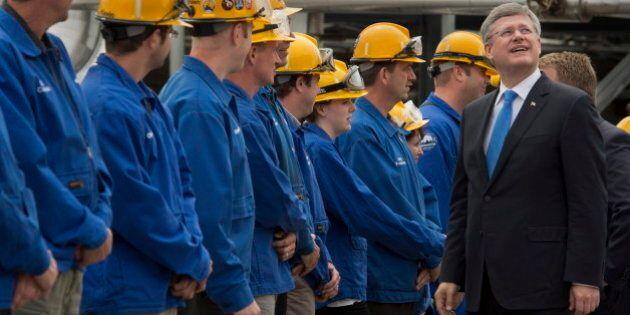 Harper: Energy East Pipeline Would Help Build Canadian Energy