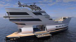 Ce bateau de luxe va vous jeter par