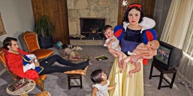'Fallen Princesses': Dina Goldstein's Work Explores The Dark Side