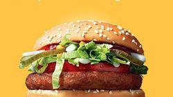 McDonald's ajoute le McVegan à son menu