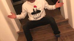 Compétition de pulls moches de Noël chez les