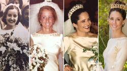 La même robe de mariée depuis 4